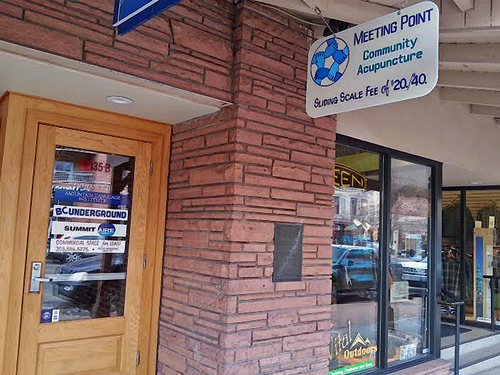 Meeting Point Community Acupuncture in Denver & Golden Colorado